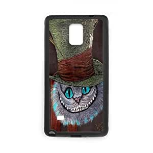 Nuktoe Samsung Galaxy Note 4 Case Cat with Hat KN297651