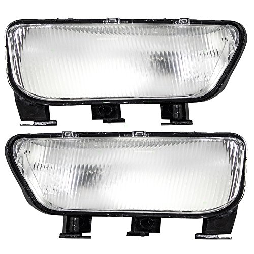 - Driver and Passenger Cornering Signal Marker Lights Lamps Replacement for Cadillac 25666735 25666736