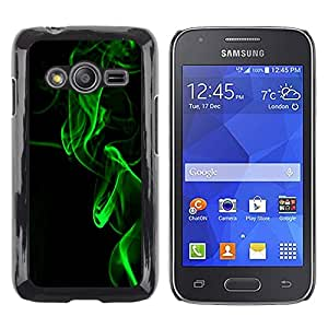 Exotic-Star ( Fog Black Laser Light Night Black ) Fundas Cover Cubre Hard Case Cover para Samsung Galaxy Ace4 / Galaxy Ace 4 LTE / SM-G313F