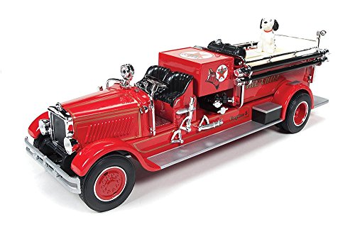 1929 Mack Fire Truck 1/30 Die Cast Model