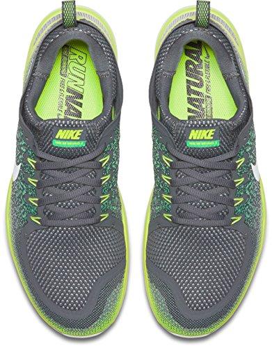 Nike Herren Mens Free RN Distance 2 Running Hallenschuhe Mehrfarbig (Stealth/Off White-Dark Grey)