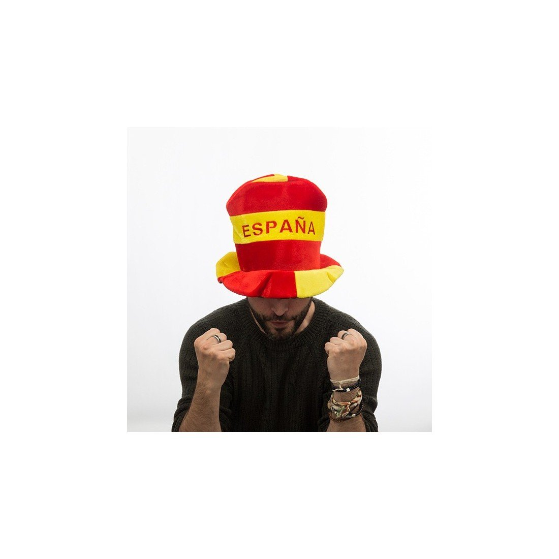 Amazon.com: I Love Spain - Gorro de fútbol: Clothing