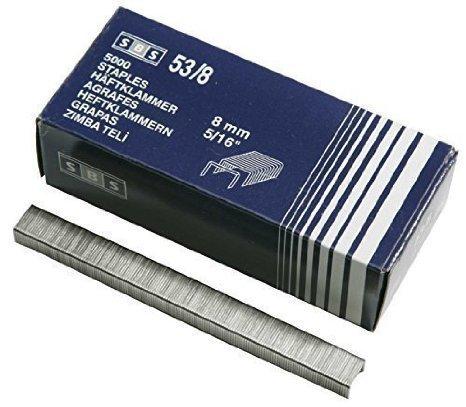 5000pezzi graffette tipo 538mm di SBS® per spillatrice Graffette