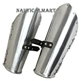 Medieval Knight Steel Arm Guard Armor Costume By Nauticalmart