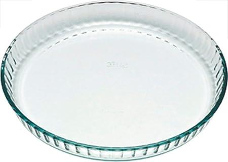 Pyrex Classic Vidrio Molde plano para Tarta, 28 x 28 cm, 1.4 L ...
