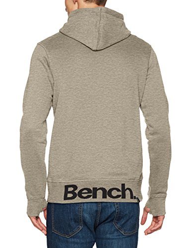 winter Her Gris Marl Hombre Hoodie Para Ma1054 Bench Capucha Grey qdYxagnX