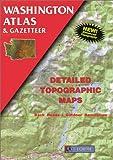 Washington Atlas, DeLorme Map Staff, 0899332633