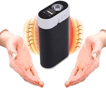 Ewarmer Portable Batterie Externe USB Pocket Chauffe-Main /électrique r/échauffeur Rechargeable
