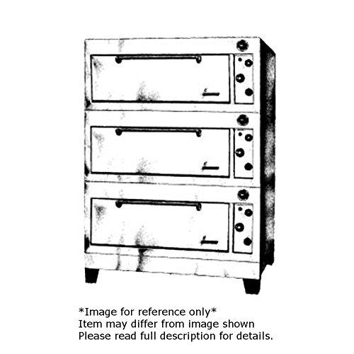 Garland E2555 Electric Triple Deck Roast Oven with 12 Gauge Steel Decks & 39
