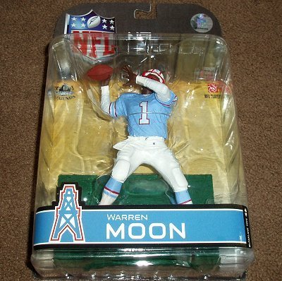 Houston Oilers Warren Moon McFarlane Legends Series 4 Action Figure