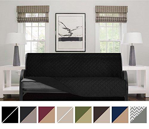 futon cover black - 4