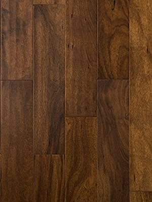Outback Plains Acacia Wood Flooring | Hand Scraped | Durable, Strong Wear Layer | Engineered Hardwood | Floor SAMPLE by GoHaus