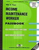 Income Maintenance Worker, Jack Rudman, 0837337259