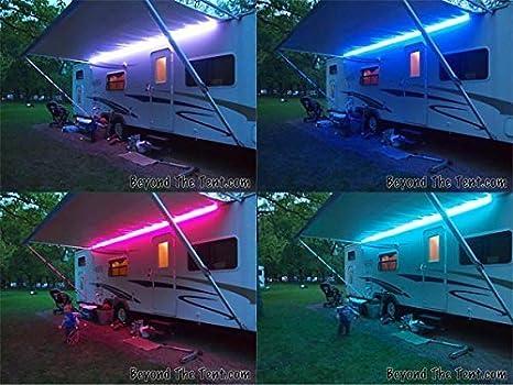 Rgb colore cambio luce led v dc roulotte camper illuminazione