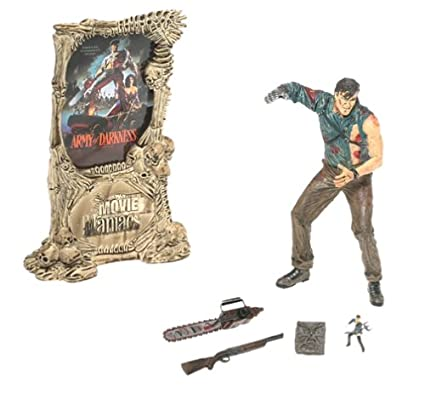 67baf8cb Amazon.com: McFarlane Toys Movie Maniacs Series 3 Action Figure Army of  Darkness Ash: Toys & Games