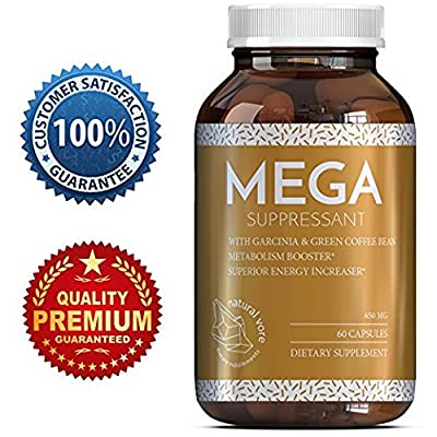 Best Garcinia Cambogia Weight Loss Supplement with Green Coffee Bean Extract Raspberry Ketones - Natural Fat Burner Diet Pills Appetite Suppressant with Pure Green Tea 60 Capsules - Natural Vore