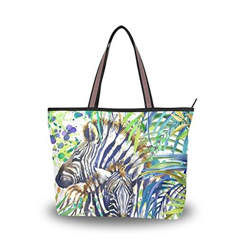 purse organizer inserts zebra - 6