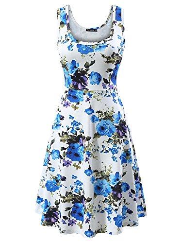 Fensace Womens Sleeveless Summer Flared product image