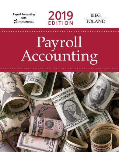 (Payroll Accounting 2019 (with CengageNOWv2, 1 term Printed Access Card))