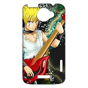 Laxus Play The Guitar Which The Fairy Tail Logo For Japanese Anime Fairy Tail HTC One X+ Phone Best Durable Cover Case
