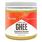 BulletProof Grass-Fed Ghee Quality Fat From Pasture-raised Cows, 383g