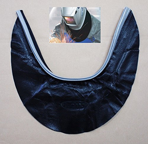 [Hq Otos Protector Cover Seal Hood Spatter Leather Weld Welding Helmet Neck] (Real Fx Masks)