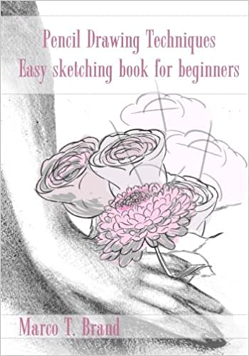 pencil drawing techniques easy sketching book for beginners marco