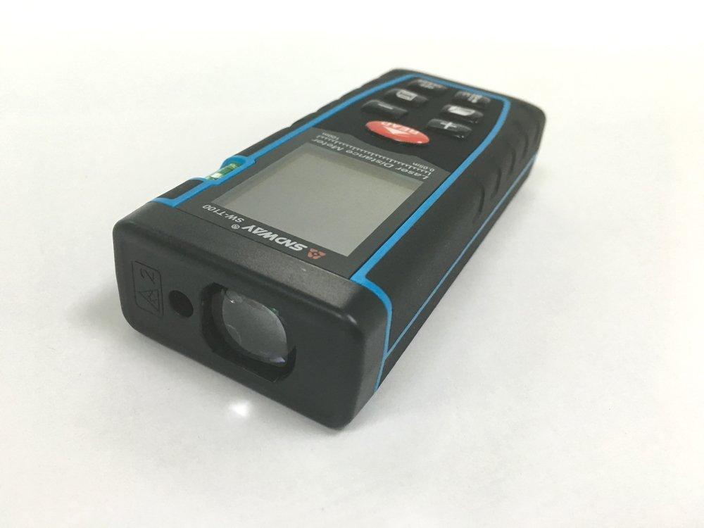 Tacklife Laser Entfernungsmesser Bedienungsanleitung : Sndway laser distance measure meter to m