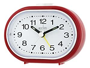 Acctim Tern Alarm clock red by Acctim