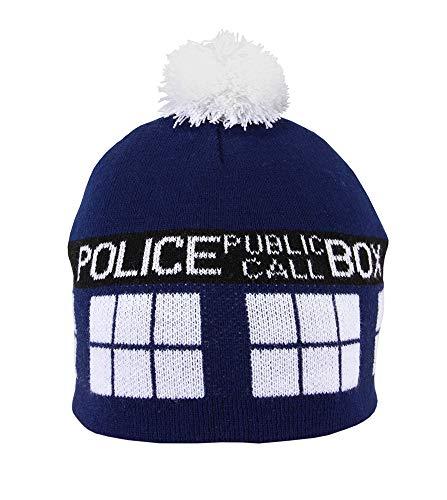elope Dr. Who TARDIS Knit Pom Beanie ()