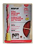 Wrap On 31018 4 Pack 18ft. 36W 120V Pipe Heating Cable, Red