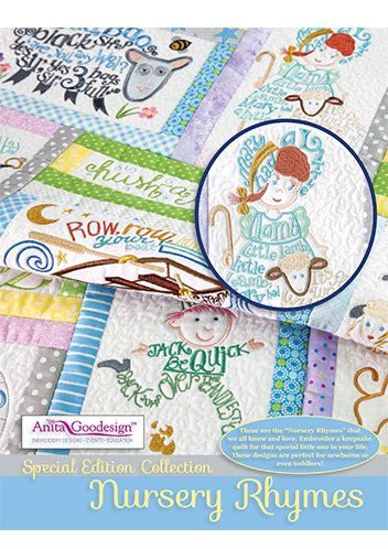(Anita Goodesign Embroidery Designs Special Edition Collection Nursery Rhymes)