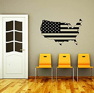 Worksheet. Amazoncom Wall Decals Map of The USA World States Gift Stars