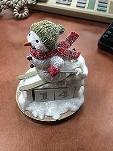 Hallmark Snowman Perpetual Calendar 1dir1847