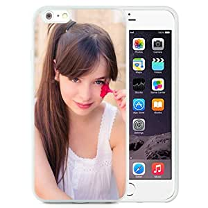 Unique Designed Cover Case For iPhone 6 Plus 5.5 Inch With Pauline Hita Girl Mobile Wallpaper (2) Phone Case