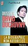 Dossier David Duchovny : La biographie non autorisée par Mitchell