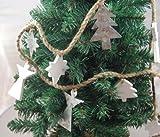 Heaven Sends - Rustic Metal & Wood Angel Christmas Garland