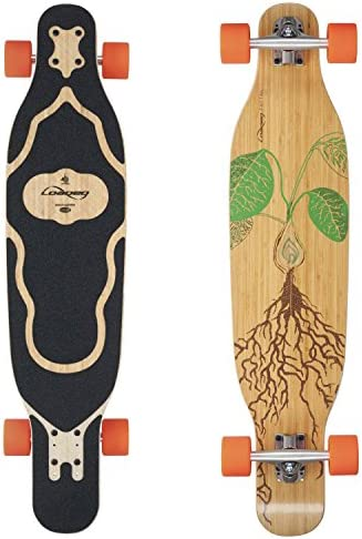 Loaded Boards Fattail Bamboo Longboard Skateboard Complete