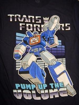 Transformers Pump Up The Volume Navy Men T-shirt