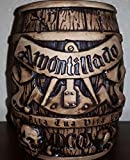 "Cask of Amontillado Barrel Tiki Mug ""Investigator"" Gift Pack"