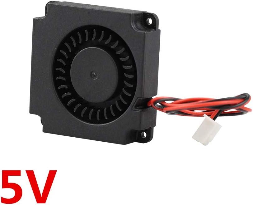 10mm 4010 DC Turbo Fan 5V Bearing Blower Radial Cooling Fans for Creality CR-10 Kit 3D Printer WLKK Turbine Fan 5V 12V 24V 40mm