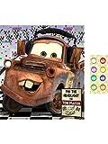 Hallmark - Disney Cars Dream Party - Pin the Headlight Party Game