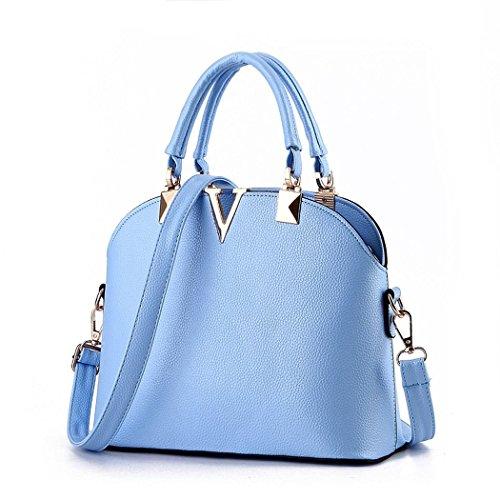 VINICIO Women's Fashionable Simple Letter V Gentlewomanly Shoulder Bag - Australia Shoping Online