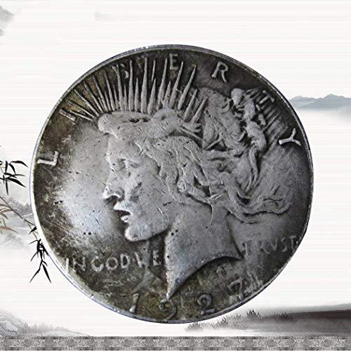 KaiKBax Best Morgan Silver Dollars-1927 Coin Collecting-Silver Dollar USA Old Original Pre Morgan ()