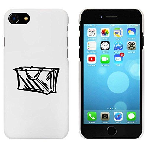 Blanc 'Sac' étui / housse pour iPhone 7 (MC00090795)