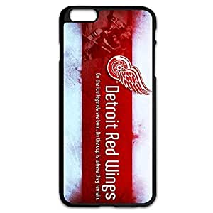 Keke Design Vintage Hard Case Detroit Red Wings For IPhone 6 Plus (5.5 Inch)