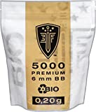 Elite Force Premium Biodegradable BB Pellets 0.20 g 6 mm Pack of 5000 White