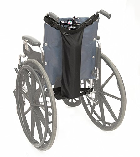 AdirMed Oxygen Cylinder Bag for Wheelchairs (D & E Cylinders) by AdirMed (Image #3)