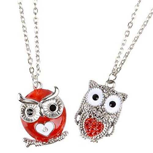 Owl Heart Necklaces 2 Order