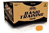 GI Sportz DXS Basic Training Paintballs Case of 2000 Rounds (Orange)